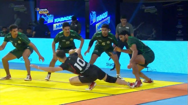 kabaddi masters dubai 2018 sf1 iran vs pakistan top raids